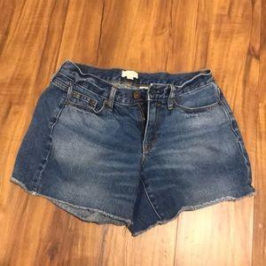 J. Crew jean shorts!